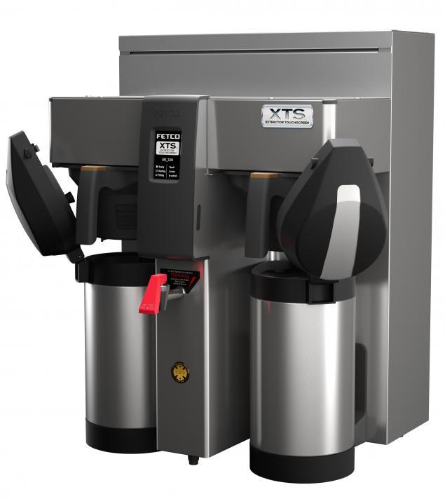Fetco Twin 3L Airpot Coffee Brewer CBS-2132 XTS