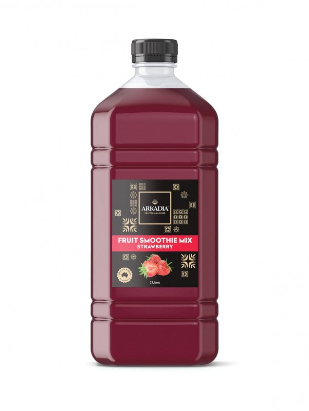 Strawberry Fruit Smoothie Mix Carton of 6