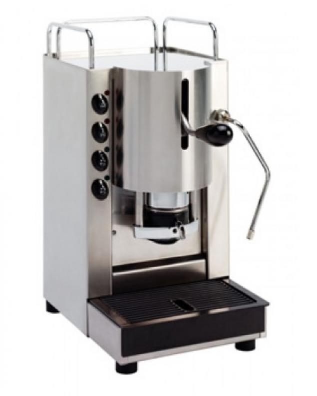 Spinel Pinocchio E.S.E Espresso Pod Machine with Milk Steamer