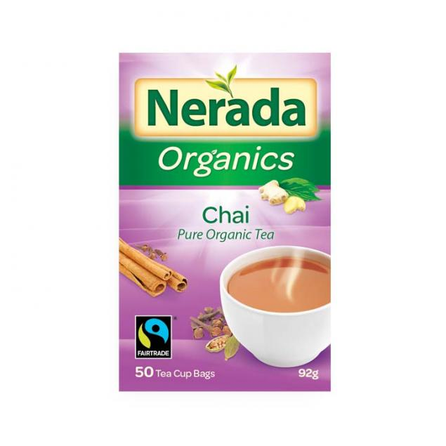 Nerada Fair Trade Organic Chai Tea 250 Bags