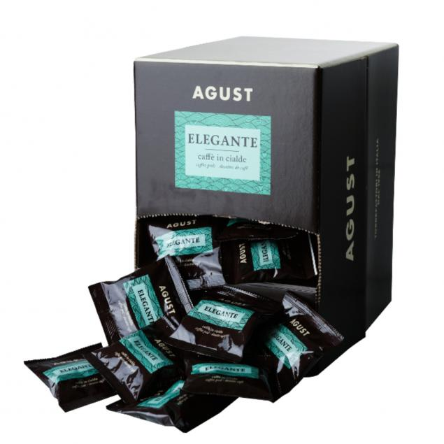 Caffe Agust Elegante Pods 150 ( Espresso )